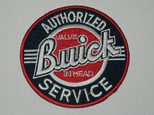 MOTORSPORTS MOTOR RACING SEW ON / IRON ON PATCH:- BUICK (a) AUTHORIZED SERVICE