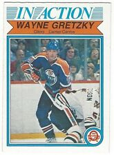 1982-83 OPC HOCKEY #107 WAYNE GRETZKY IN ACTION - VERY GOOD