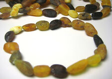 Raw Baltic Amber Bracelet  Elastic Stretch
