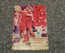 463) Liverpool v MYPA-47 European cup winners cup  26-9-1996