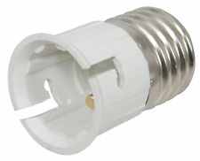 NEW LAMP SOCKET CONVERTER BAYONET BULB TO SCREW IN FITTING ADAPTOR E27 to B22