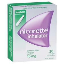 DJP NEW Nicorette Inhalator 15mg 20