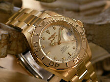 Invicta 9010 Pro Diver 23K Gold Plated SS Self-Wind Automatic Men's 200M Watch