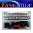 2X 8 LED Daytime Running Driving Light DRL Fog Lamp Kit Car Ute Truck 12 Volt