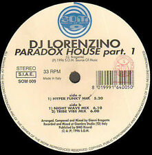 DJ LORENZINO - Paradox House Part. 1 - Som Source Of Music - SOM009 - Italian