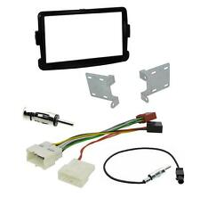 Connects2 Dacia Sandero 2012 On Double Din Facia PIANO BLACK ISO Aerial Adapters