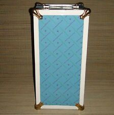 """~~ Madame Alexander Metal Trunk Case for 8"""" Doll Dress Clothes Shoes Outfits ~~"""