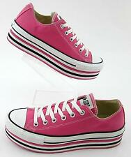 Converse All-Star Womens Lo Platform Sneakers PINK Sz 9.5