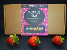 Make Your Own Bubble Tea Kit - Strawberry and Mango Flavour