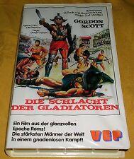 VHS Die Schlacht der Gladiatoren Actionfilm Videokassette VEP