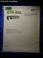 Sony Bedienungsanleitung STR S5L Receiver (#1507)