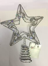 Premier Silver Christmas Tree Topper Christmas Tree Decoration