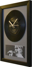 David Bowie – Ashes To Ashes – 7″ Single – Framed Wall Clock – Special Gift Idea