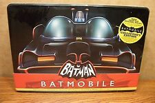 POLAR LIGHTS BATMAN's BATMOBILE COLLECTOR TIN with 1/32 SCALE MODEL KIT