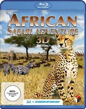 African Safari Adventure - 3D Blu-ray Disc (+ 2D Blu-ray Version) NEU + OVP!