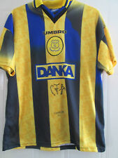 1996-1997 Signed Everton Away Graham Stuart Football Shirt with COA /40501