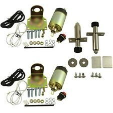 New 50lb solenoid shaved door kit hot rod rat rod complete with 2 door poppers