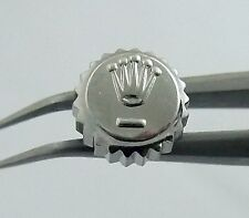 Rolex Datejust 6mm Stainless Steel Watch Winding Crown Part 1601 16013 16000