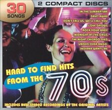 Hard To Find Hits From the 70's UK 2 CD set