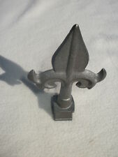 "Cast Iron Spear, Finial, Spire, Ornamental Fence Topper 5/8"" each 227"