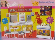 Barbie Fun Time McDonalds Restaurant Playset New Sealed
