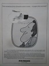 5/1974 PUB AIR FRANCE AIRLINE BOEING AIRLINER PASSAGER VOYAGE FRENCH AD