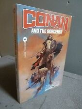 CONAN AND THE SORCERER INSCRIBED AND SIGNED BY ANDREW J. OFFUTT 79' FANTASY CON