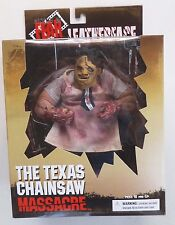 "Mezco Texas Chainsaw Massacre LEATHERFACE 9"" Figure, Mint in Box"