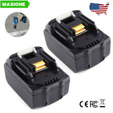 2 Pack Makita BL1830 BL1815 3.0Ah 18-Volt LXT Lithium-Ion Replace Battery 18V