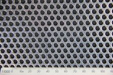 3mm Hole-5mm Pitch-1mm Thickness SS304-Perforated Mesh Sheet -200 x 200mm Sheet