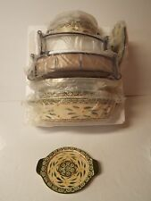 Temp-tations Old World 13-pc. Lid-it Oven-to-Table Set-Green-New