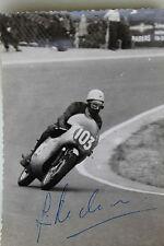 27093 Motorrad Rennen Foto Autogramm Jim Redmann Rhodesien 1962 autograph HONDA