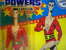 D0500402 PLASTIC MAN AFA 85 SUPER POWERS MOSC MINT ON SEALED CARD KENNER