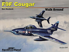 20006/ Squadron Signal - Walk Around 68 - F9F Cougar - TOPP HEFT