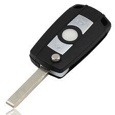 BMW 3 BUTTON REMOTE FOB FLIP CAR KEY CASE E46 E38 E39 3 5 7 SERIES Z3 Z4 X5 X3