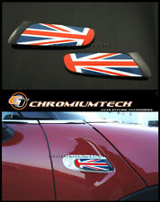 Union Jack Side Lamp Scuttles Insert for 2014 up F55 F56 MK3 MINI Cooper/S/ONE