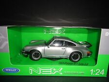 Welly Porsche 911 Turbo 3.0 1974 Silver 1/24