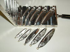 Saltwater Wobble Fish Jig mold 1,2,3,4,6oz CNC Aluminum Herring