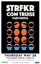 STRFKR / COM TRUISE/FAKE DRUGS 2016 PHOENIX CONCERT TOUR POSTER - Indie Rock/Pop
