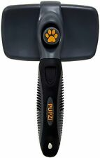 The Best Retractable Self Cleaning Slicker BRUSH for Dogs and Cats By PUPZI