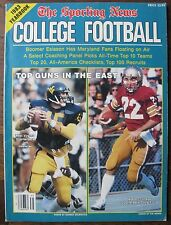 1993 College Football Yearbook (TSN) Doug Flutie, Jeff Hostetler, Boomer Esiason