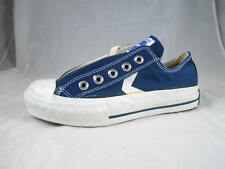 New Old Stock  MADE IN USA CONVERSE Chevron Navy Blue  Canvas Sneakers women 5