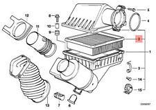 Genuine BMW E31 E32 E34 E38 E39 E52 Engine Air Filter Insert OEM 13721736675