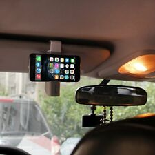 2in1 Portable Car Air Vent Mount Sun Visor Phone Clip mount Holder F Smart Phone