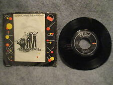 "45 RPM 7"" Record Wings Listen To What The Man Said Love In Song Capitol 92112"