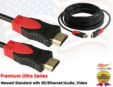 30FT Super Speed HDMI Cable with Ethernet-Ultra Series-Support Ethernet,3D,Audio