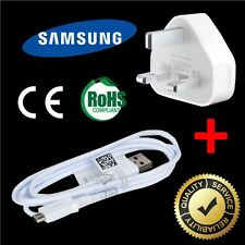 1.5M SAMSUNG Micro USB Charger Cable + Wall Plug Charging Adapter For S5 S6 S7