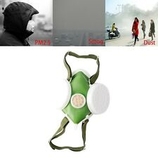 Hot Dual Respirator Anti-Dust Gas Mask Twin Chemical Spray Paint Safety Headwear