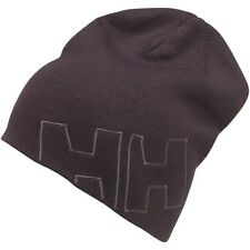 HELLY HANSEN MEN'S OUTLINE BEANIE HAT (ONE SIZE, BLACK) *BNWT + FAST DELIVERY*