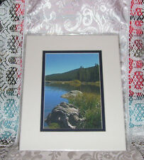 PHOTO ART ECHO LAKE COLORADO 5X7 MATTED 8X10 SIGNED #60/200